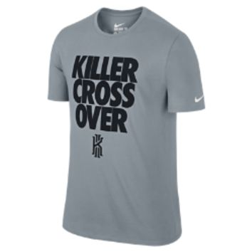 "Nike Kyrie Irving ""Killer Cross Over"" Men's T-Shirt Size 2XL (Grey)"