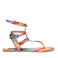 Rainbow City Slicker Sandal