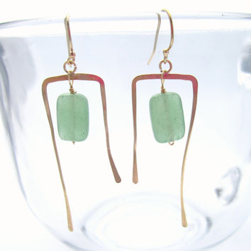 Waterfall Gemstone Earrings