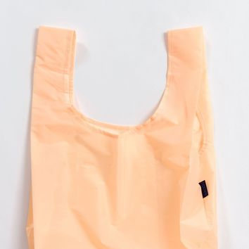 Electric Peach Standard Reusable Shopping Bag by Baggu