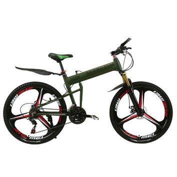 Altruism X5 Pro Mountain Bike Aluminum Alloy 21 Speed for Mens Bikes 26 Inch Disc Brake Folding Bicycle