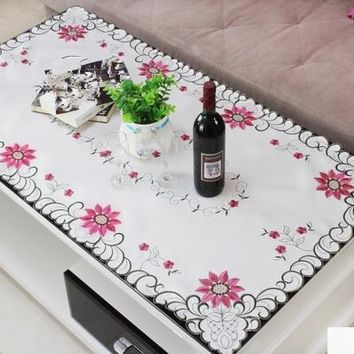 The living room coffee table table cloth  rectangular small square table cloth  Square Garden