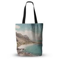 "Nastasia Cook ""Aloha"" Mountain Beach Everything Tote Bag"