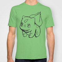 Pokemon Graphic T-Shirt: Bulbasaur Sketch  MENS + WOMANS