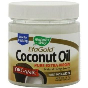 Nature's Way Extra Virgin Organic Coconut Oil, 16 oz.