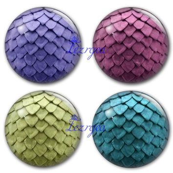 Dragon Egg Round Glass Cabochon Game of Thrones Art Pendant Making Photo Cameo Cabochon Setting Supplies for Jewelry Accessories