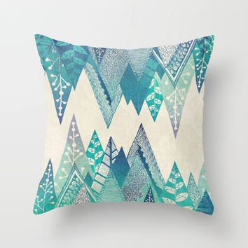 Upland  Throw Pillow by Rskinner1122