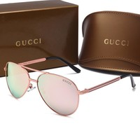 Day-First™ GUCCI Fashion Popular Sun Shades Eyeglasses Glasses Sunglasses H-A50-AJYJGYS