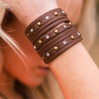Out West Leather Cuff