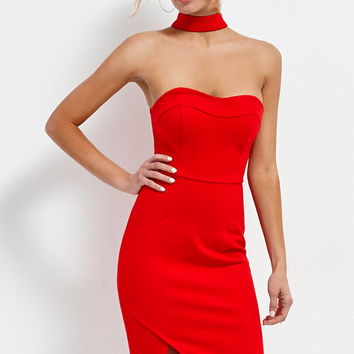 Selfie Leslie Choker Strapless Dress at PacSun.com