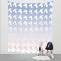 New Year, Colors, Unicorns Wall Tapestry by That's So Unicorny | Society6