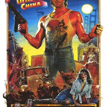 Big Trouble in Little China Movie Poster 24x36