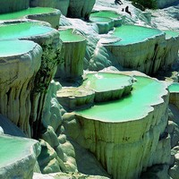 Simply Magical / Turkey ~ natural rock pools..