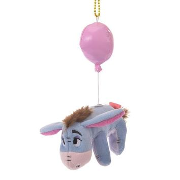 Eeyore Plush Keychain BALLOON Color of Pooh Disney Store Japan - VeryGoods.JP