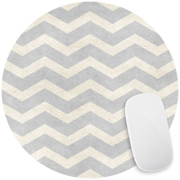 Paper Chevrons Mouse Pad Decal