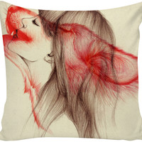 Beauty of the Beast Within - Couch Pillow