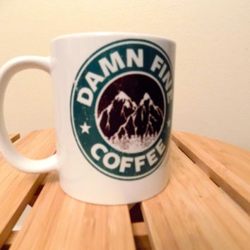 "Twin Peaks Inspired ""Damn Fine Coffee"""