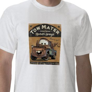 Cars; Tow Mater Disney Tshirt from Zazzle.com
