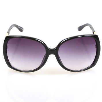 Summer Stylish Sunglasses Uv Proof Ladies Fashion Rack Mirror [4920642308]