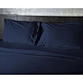 ComfortLiving Color 3-Piece Sheet Set Twin - Navy