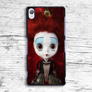 The Red Queen Alice in Wonderland Sony Xperia Case, iPhone 4s 5s 5c 6s Plus Cases, iPod Touch 4 5 6 case, samsung case, HTC case, LG case, Nexus case, iPad cases