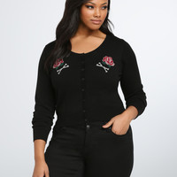 Iron Fist Freak Embroidered Cardigan