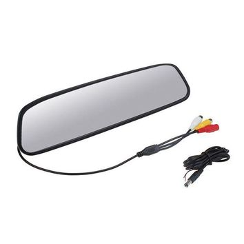 ac NOOW2 High resolution 5' TFT LCD Car Rear View Bracket Mirror Monitor Parking Assistance 5 inch screen car Monitor