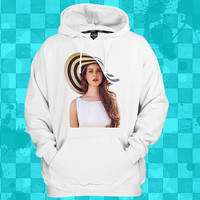 Lana Del Rey  crewneck hoodie for men and women