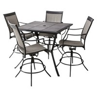 Threshold™ Harriet 5-Piece Sling Balcony Height Patio Dining Furniture Set