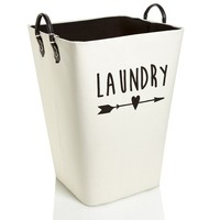 "Laundry Arrow 22"" Rectangular Open Hamper 611747572"