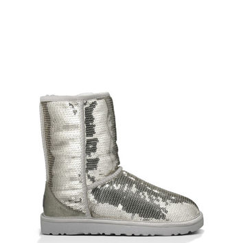 UGG® Official | Women's Classic Short Sparkles Boot | UGGAustralia.com