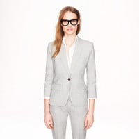 Sidney jacket in Super 120s wool - suiting jackets - Women - J.Crew