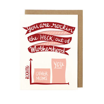 Rocking Motherhood Card