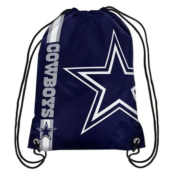 Dallas Cowboys NFL Drawstring BackPack - SackPack ~ NEW!
