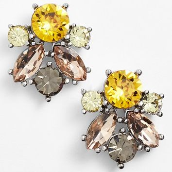 Women's Givenchy Crystal Cluster Stud Earrings (Nordstrom Exclusive)