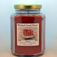 Glass Jar Candle - Bacon