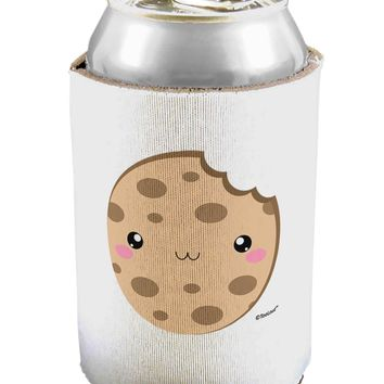 Cute Matching Milk and Cookie Design - Cookie Can / Bottle Insulator Coolers by TooLoud