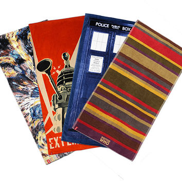 Doctor Who Beach Towels - TARDIS Door
