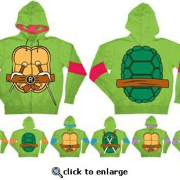 Teenage Mutant Ninja Turtles Costume Adult Hooded Sweatshirt with Detachable Eye Mask - Teenage Mutant Ninja Turtle Costumes - Free Shipping on orders over $60 | TV Store Online
