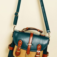 Authentically Academic Bag in Teal