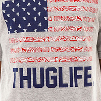 Breezy Excursion Tee Thug Life in Grey