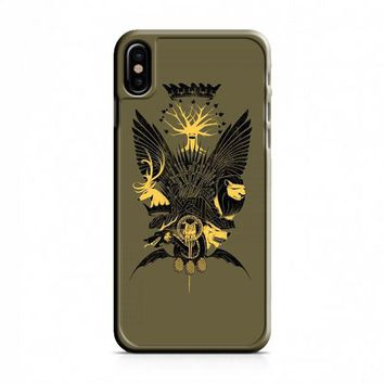 Game Of Thrones Who is Crown iPhone X Case