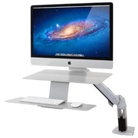 Ergotron WorkFit-A Sit-Stand Workstation for Apple (24-414-227)