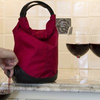 Wine Totes by Menu, Baggy Wine Coat