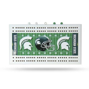 NEW YORK JETS FIELD CRIBBAGE BOARD
