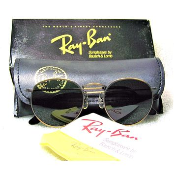 Ray-Ban USA *NOS Vintage B&L Antique Bronze Collection W0967 NEWinBOX Sunglasses
