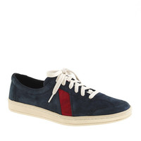 Men's Sawa For J.Crew Suede Low-Top Sneakers