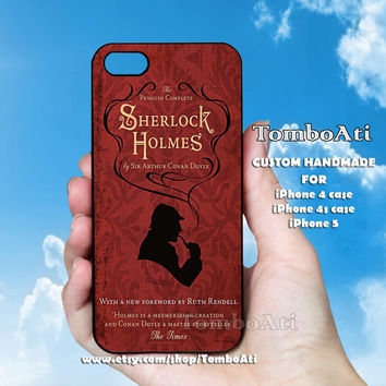 Sherlock Holmes - Print on Hard Cover For iPhone 4/4S and iPhone 5 Case