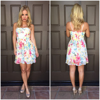 Jack By BB Dakota Cilian Floral Dress