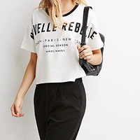 Rebelle Graphic Boxy Top